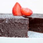 Tres ricas tartas de chocolate